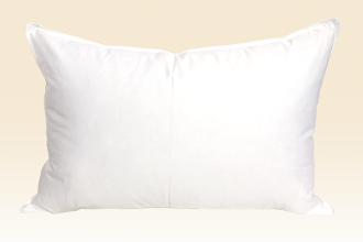 queen-sized down and feather pillows